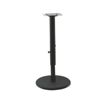 Black Adjustable Bessie Table Base