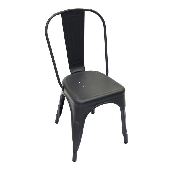 Dark Iron Matte Finish Tolix Chair RestaurantTableTopscom : Dark Iron Matte Finish Tolix Chair 2 from restauranttabletops.com size 600 x 600 png 147kB