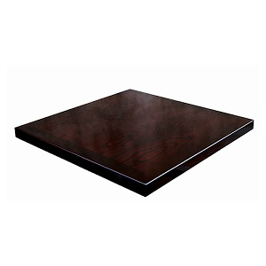 Perfect Ash Wood Veneer Table Top Espresso High Gloss Finish